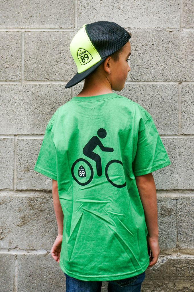 Kid's T-Shirts Kid's Bicycle Graphic Tee