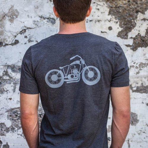 Men's Tshirt Motorcycle Men's Tee