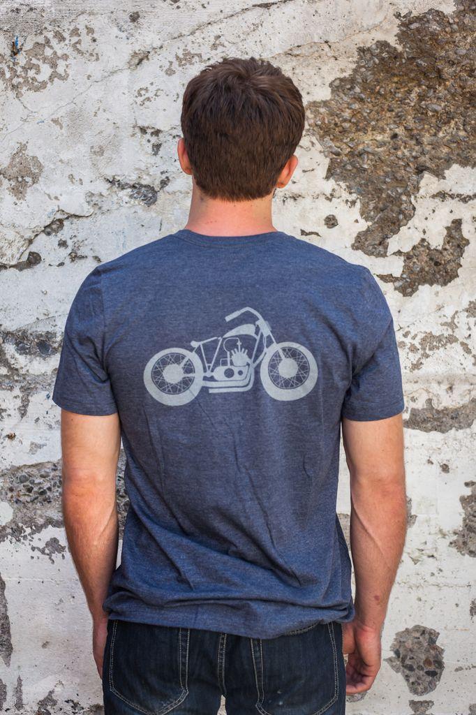 Men's Tshirt Men's Short Sleeve Motorcycle T-Shirt