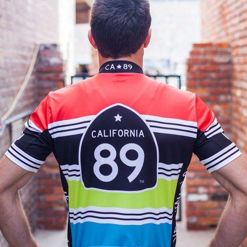 Bike Jersey Men's Stripe Bike Jersey