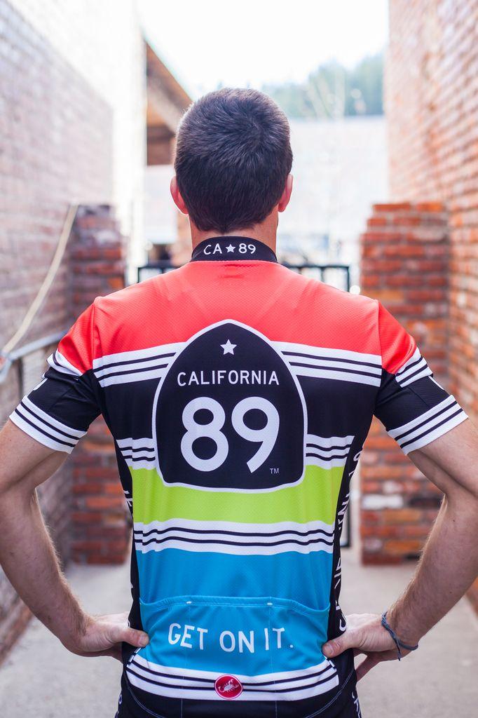 Bike Jersey Striped Men's Castelli Bike Jersey