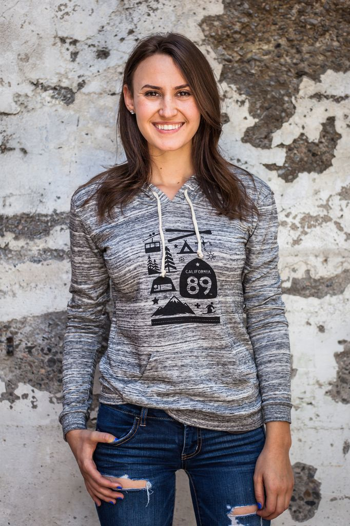 Women's Pullover Women's Lightweight Pullover, Wall Graphic front