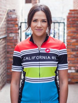Bike Jersey Women's Stripe Bike Jersey