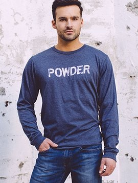 Men's Long Sleeve Tee Men's Long Sleeve Powder Tee