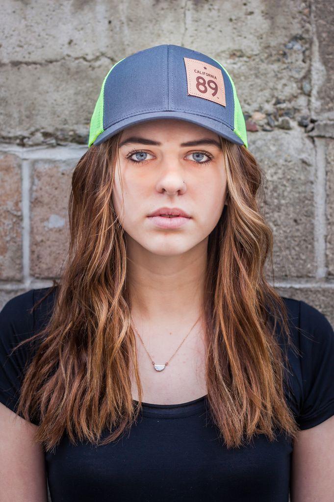 Hats Neon Mesh Capteur Snapback Hat