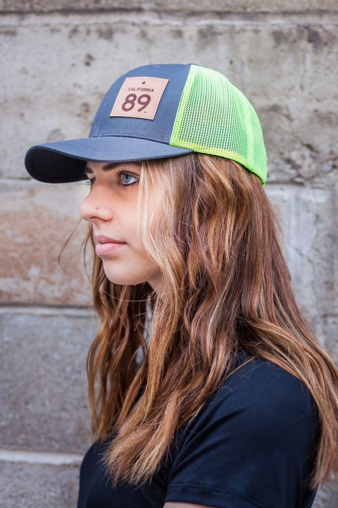 Hats Capteur cap,  Snapback, Neon Mesh