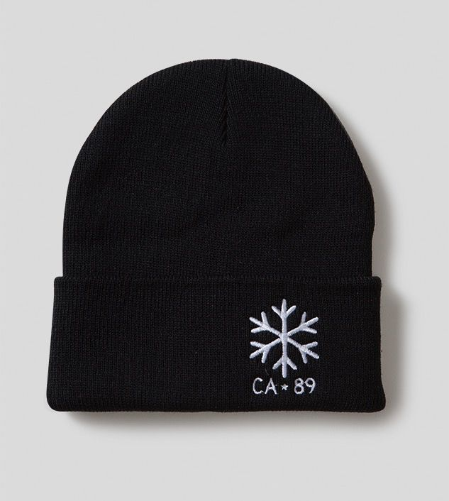 Hats Beanie with Flap, Snowflake
