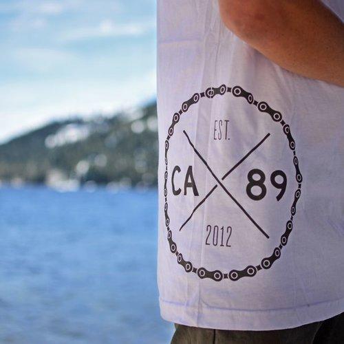 Men's Tshirt CA89 Spoke Men's  Pocket Tee