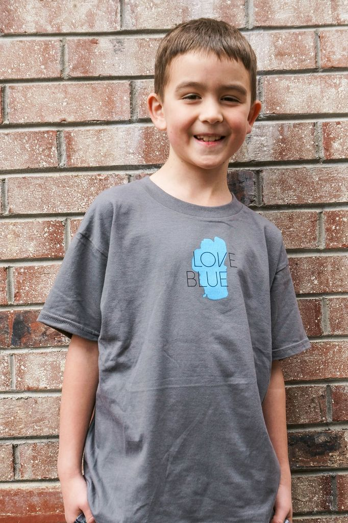 Kid's T-Shirts Love Blue Kid's Tee