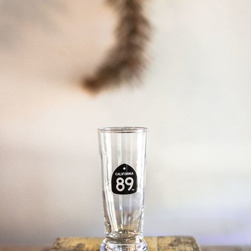 California 89 Shot Glass