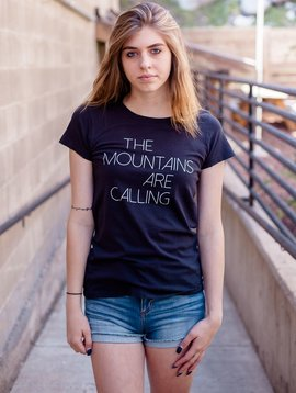 Women's T-Shirts Women's Short Sleeve Mountains are Calling