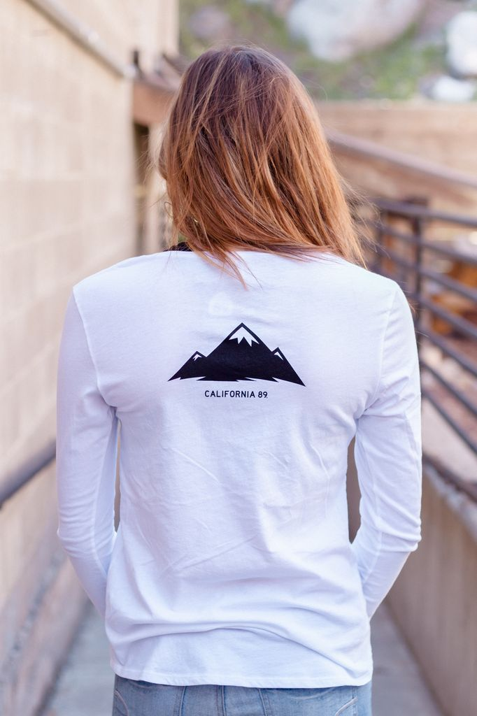 Women's T-Shirts Mountains Are Calling Long Sleeve Women's Tee