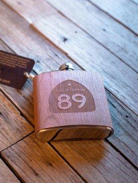 Flasks California 89 Wooden Flask
