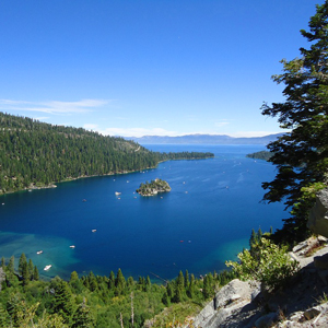 Emerald Bay, Lake Tahoe from Eagle Falls Trail
