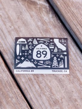 California 89 California 89 Graphic Stickers