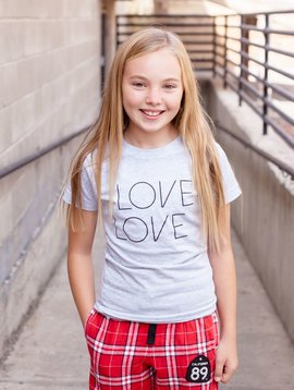 California 89 Love Girl's Tee