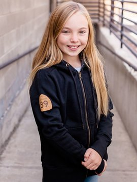 California 89 Custom Kid's Zip Sweatshirt