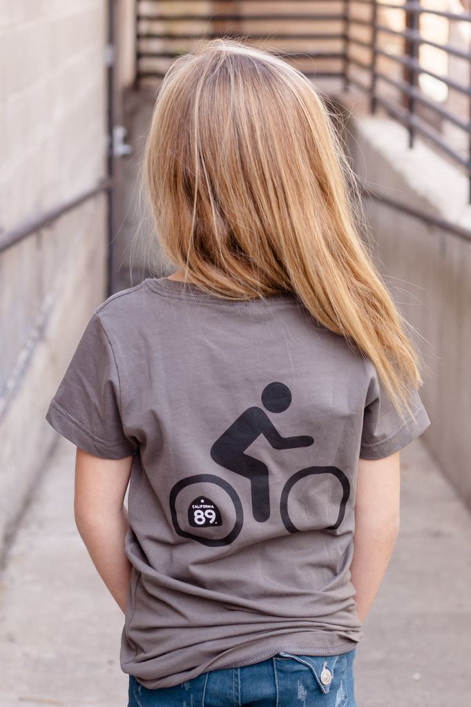 California 89 Sunflower Bike Girl's Tee