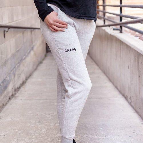 California 89 Women's Jogger Sweatpant Athletic Grey