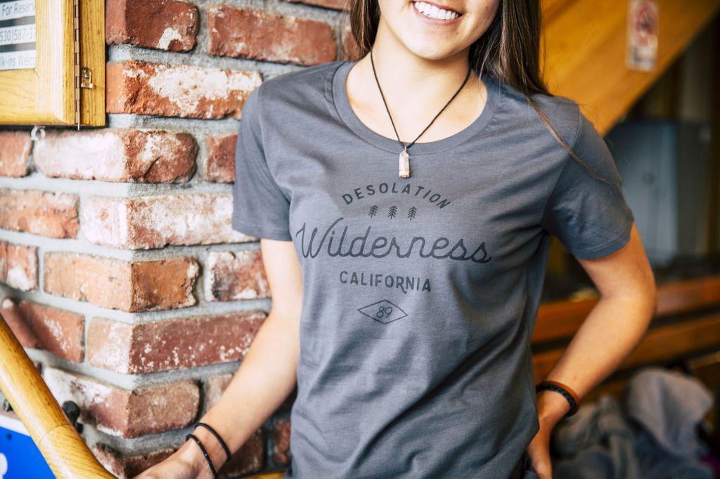 California 89 Women's Short Sleeve Desolation Wilderness Tee