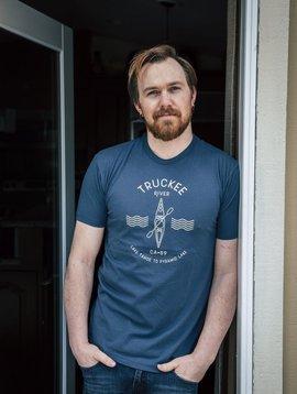 California 89 Men's Short Sleeve Truckee River Tshirt