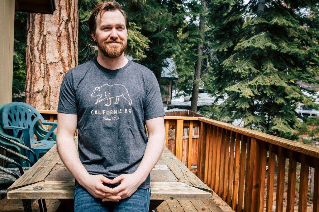 Men's short sleeve Stay Wild tshirt