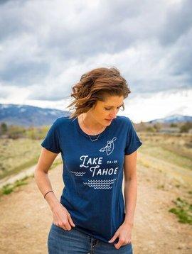 California 89 Women's Lake Tahoe Tee