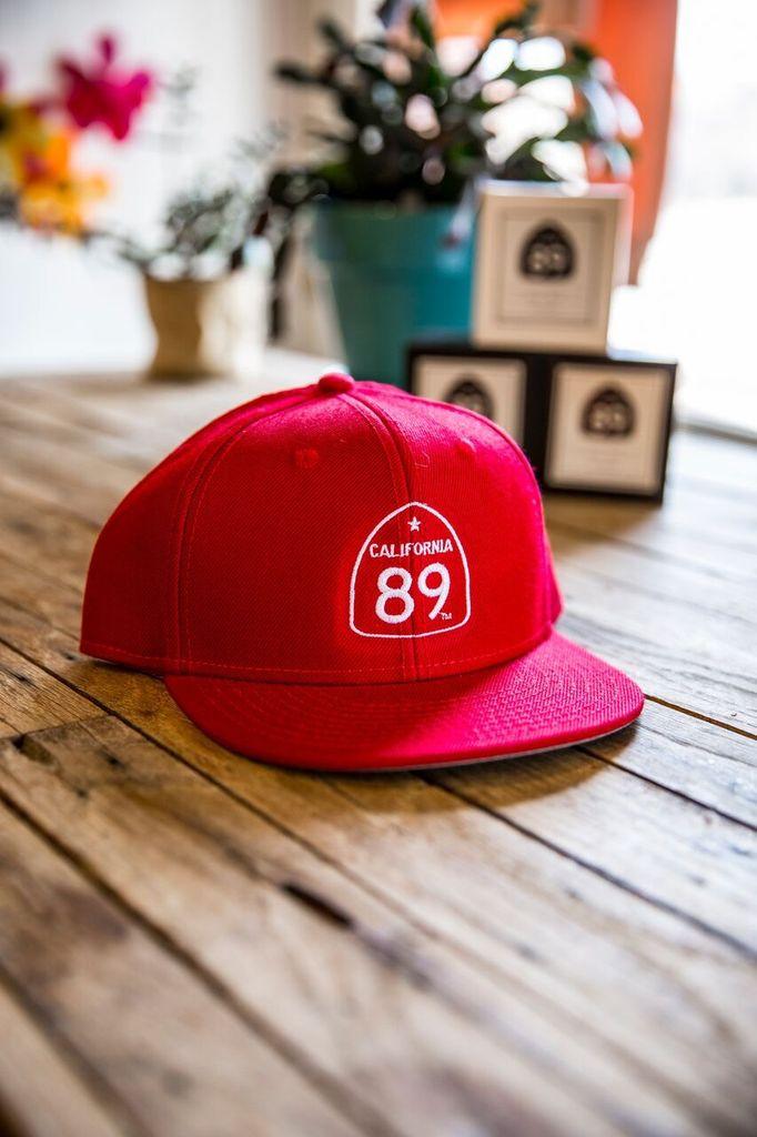 California 89 CA89 Flattop Kids Hats