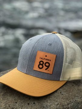 Hats Grey & Gold Capteur Snapback Hat