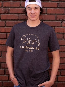 California 89 Men's  Stay Wild Tee