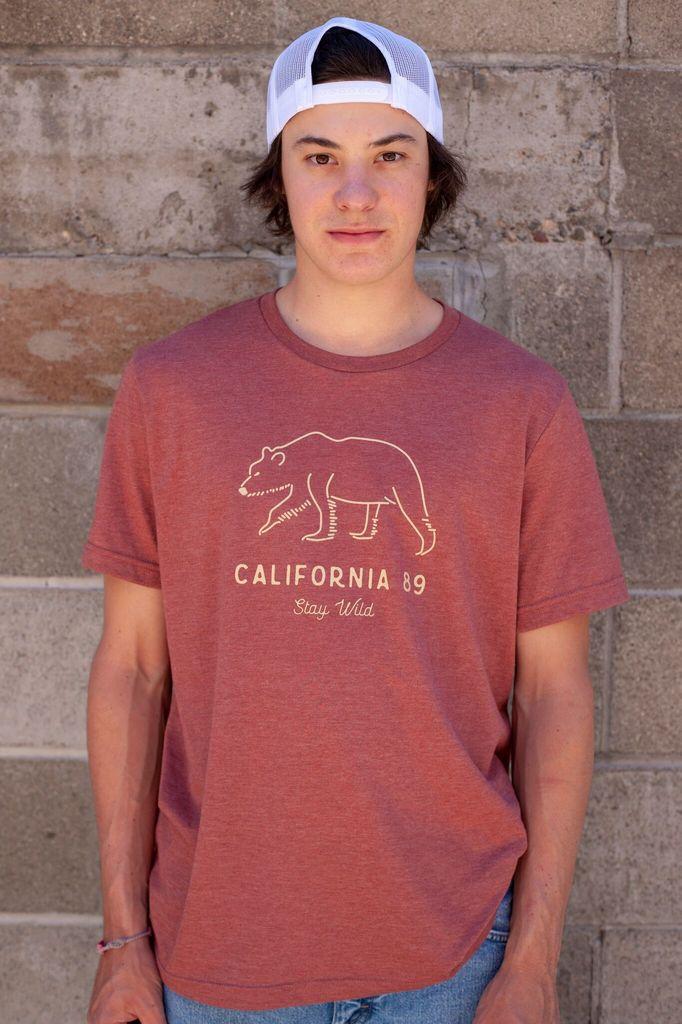 California 89 Men's  Stay Wild Tee