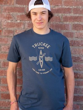 California 89 Men's short sleeve Truckee River tshirt
