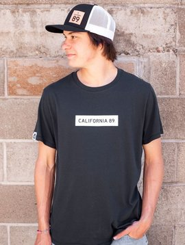 California 89 California 89 Box Logo Men's Tee