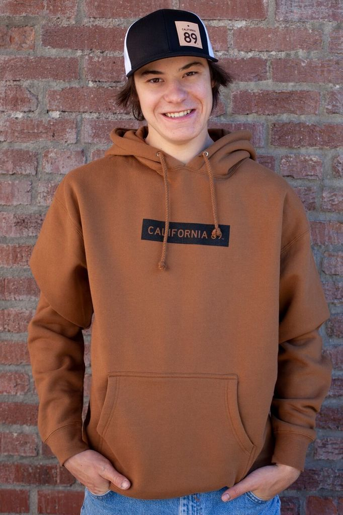 California 89 Unisex CA89 Hoodie with Box Logo
