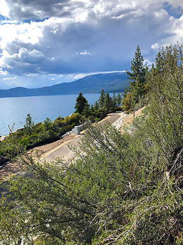 Incline to Sand Harbor Bike Path