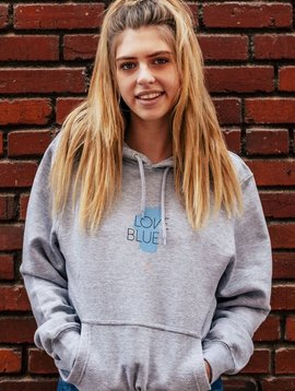 California 89 Love Blue Unisex Hoodie