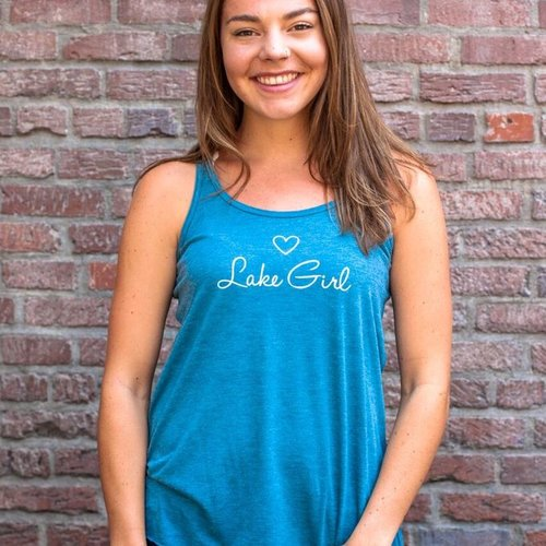 California 89  Lake Girl Women's Tank