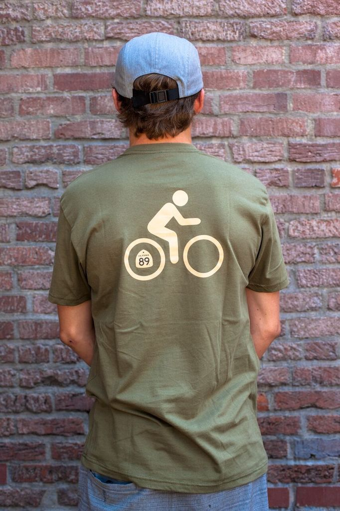 Men's Tshirt Bicycle Men's Tee