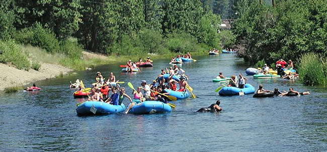 Rafting the Truckee River