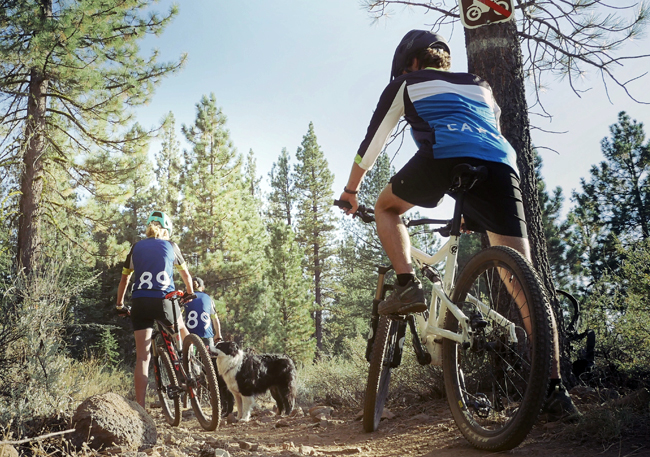 Go for a hike or a mountain bike ride