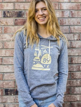 Women's Pullover Women's Lightweight Wall Graphic Pullover
