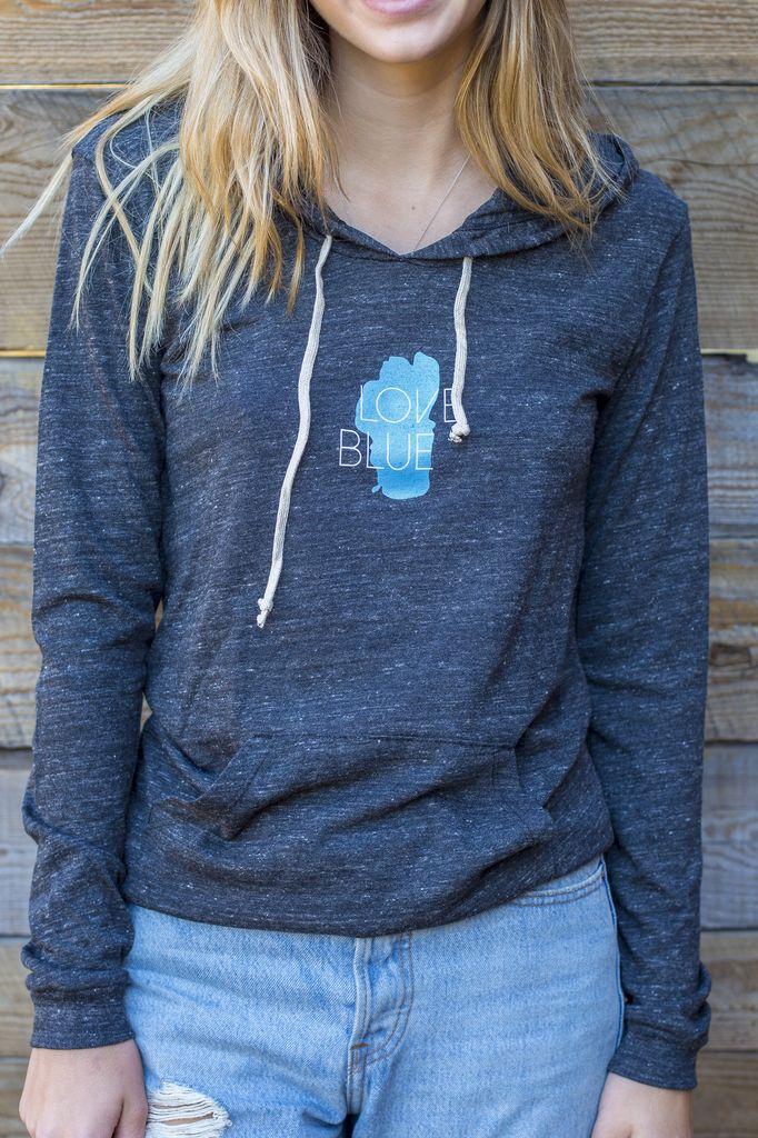 Women's Pullover Love Blue Lightweight Women's Pullover