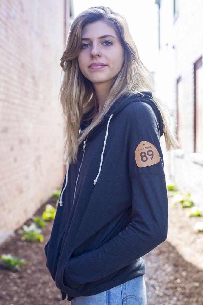 Women's Jacket Cool Down Women's Zip Up Hoodie