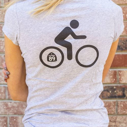 California 89 Women's Bicycle Graphic Tee