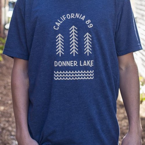 California 89 Donner Lake Men's Tee