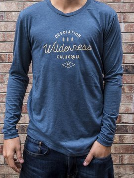 California 89 Desolation Wilderness Men's Long Sleeve Tee