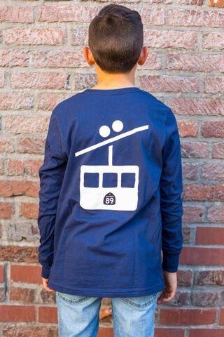 Kid's T-Shirts Gondola Kid's Long Sleeve  Tee