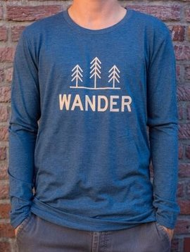 California 89 Men's Long Sleeve Wander T-Shirt