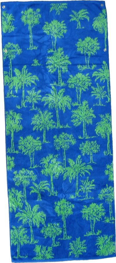 Gift Items Palm Trees - Sheared Jacquard Towel Chaise Lounge Cover