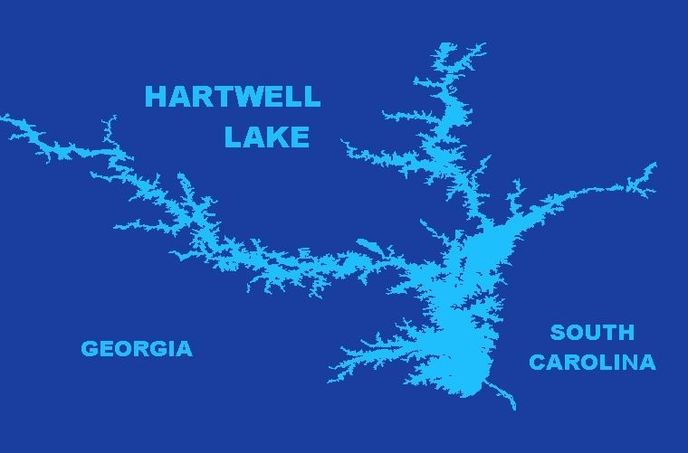 Gift Items Lake Hartwell - Jacquard Beach Towel